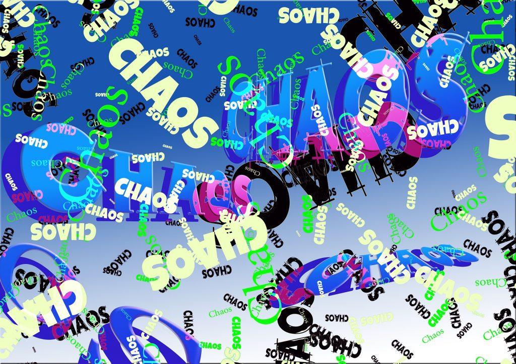 Chaos, Susanne Grethlein, Erfolgsraum, Fürth, Feng Shui Berater, Anleitung für Ordnung und Aufräumen, Chaos in der Wohnung, Chaos im Kleiderschrank, Unordnung
